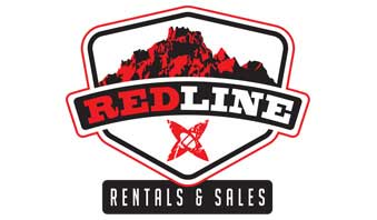 Redline Rentals and Sales Sticky Logo