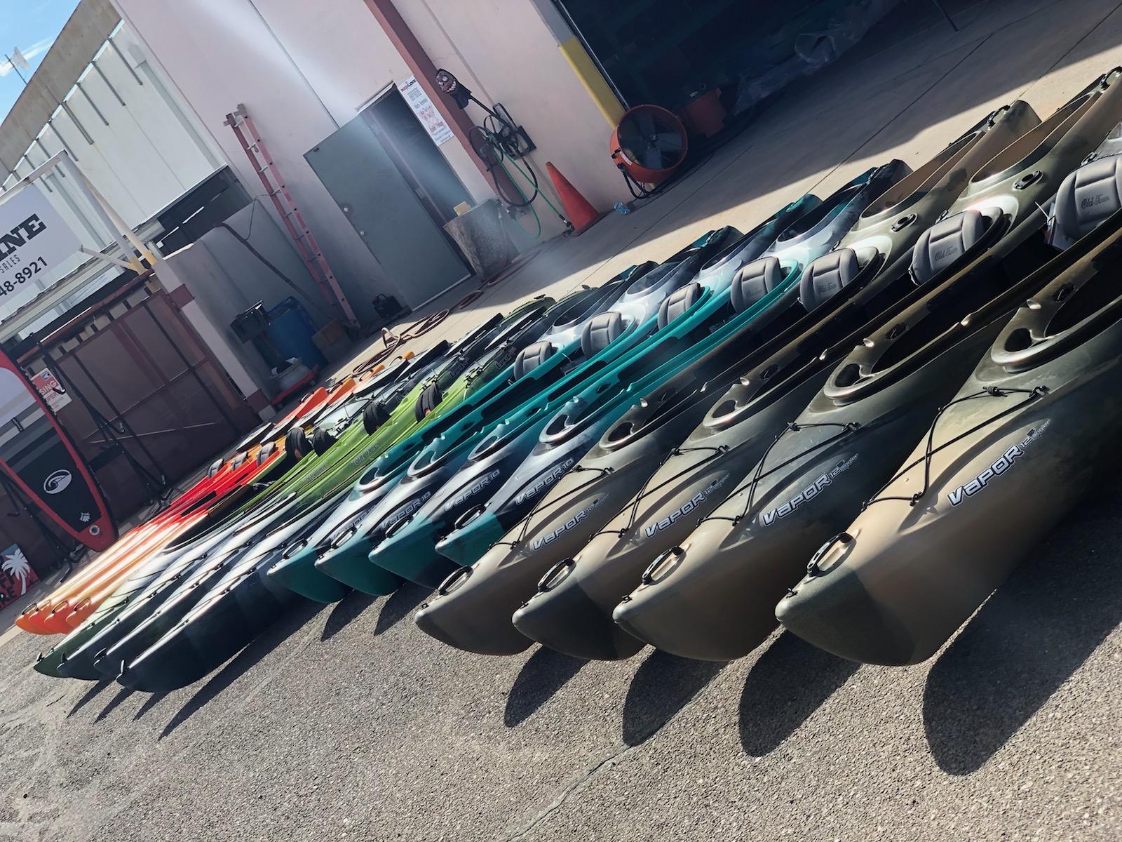 Fishing kayaks Redline