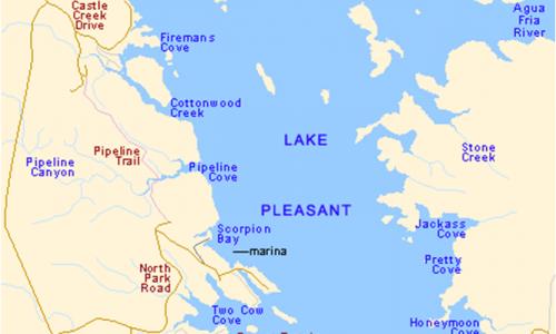 Lake-Pleasant-Map